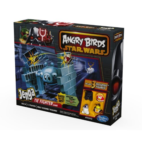 Angry Birds Star Wars Jenga Tie Fighter Game (Star Wars Angry Birds Game)