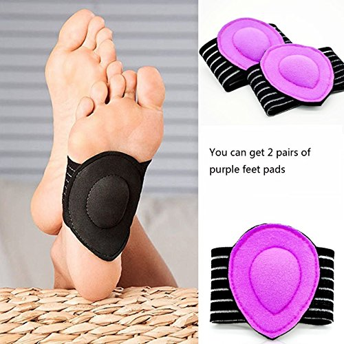 Orchidtecnt Arch Support Fasciitis Compression