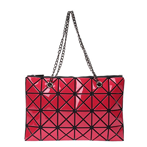 Sac à Sac à Bandoulière Sac Sac à Red Mode Couture Main Pliable CY Coréenne De Bag Version Main Dames Diagonale à Main Lingge La w6TxqSnpY0