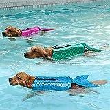 LOVEPET Pet Swimsuit Dog Turned Clothes Mermaid Pet Life Jacket Pet Dog Clothing 3 Pcs