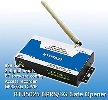 Amazon.com : LHBC RTU5025 3G alarm system 3G GSM Gate Door ...