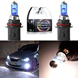 xenon headlights 9004 - CCIYU 2cs New HB1/9004 12V 5900K High Performance Super White Halogen Xenon Headlight Bulb
