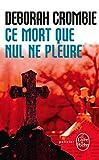 Image de Ce Mort Que Nul Ne Pleure: Inedit (Ldp Policiers) (French Edition)