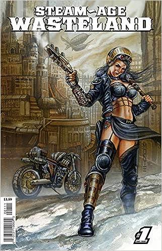 Steam Age Wasteland #1 One Shot Comic Book 2018 Antarctic Press