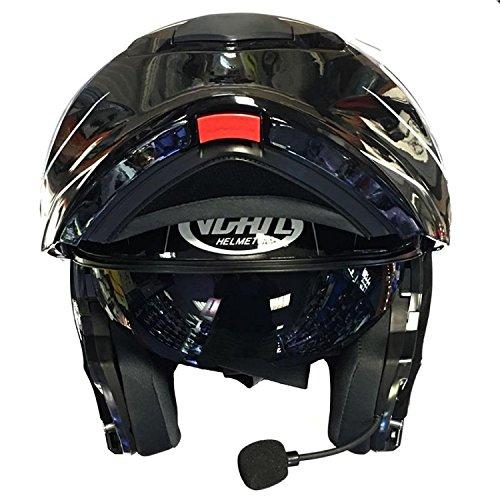 VCAN V271 BLINC Modular Flip Up Bluetooth Touring motorcyle Helmet...