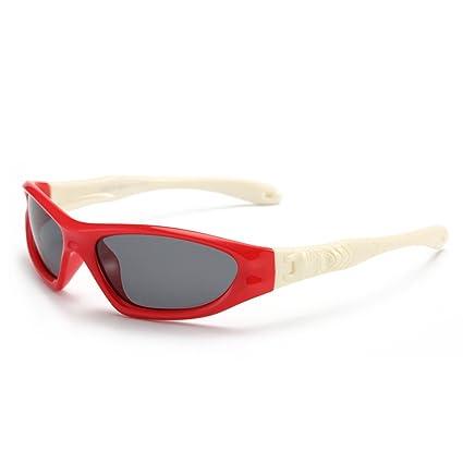 Aclth Niños Cool Gafas de Sol polarizadas de protección UV con Caja para niños y niñas