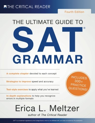 4th Edition, The Ultimate Guide to SAT Grammar cover