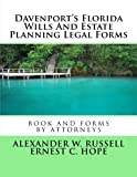 Davenport's Florida Wills And Estate Planning Legal Forms