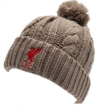 5521b7c7b45 Liverpool F.C. Cable Knit Ski Hat Official Merchandise  Amazon.co.uk ...