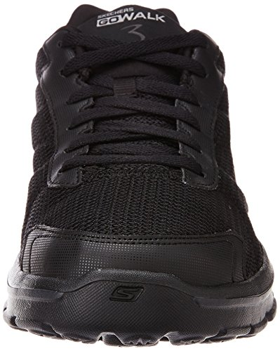 Negro Knit Zapatillas Deporte Hombre fit Skechers Walk Para Go bbk 3 De 1qcwqpTRfH