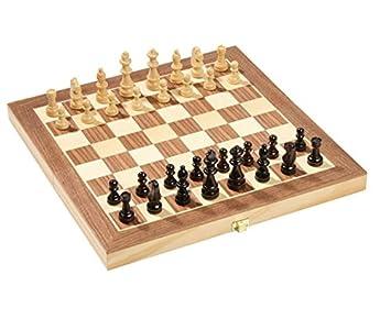 Betzold 44489 Holz Falten Schach Fall Mit Figuren Mehrfarbig 29 X