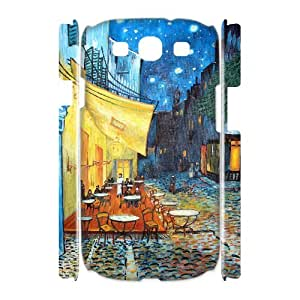 WJHSSB Oil painting Customized Hard 3D Case For Samsung Galaxy S3 I9300