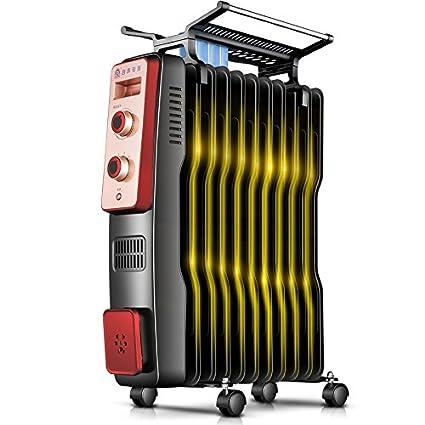 HAKN calentador Radiador de aceite radiador eléctrico vertical Estufa eléctrica de ahorro de energía Tamaño opcional