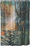 Best River's Edge Homes Curtains - Rivers Edge Products Deer Shower Curtain Review