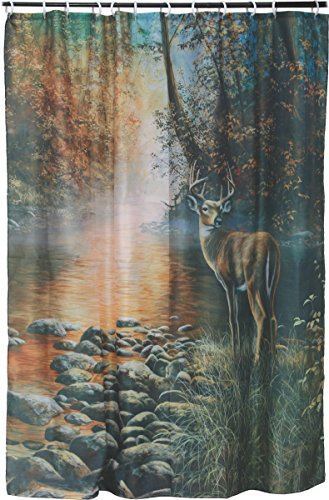 River's Edge Products Deer Shower (Best River's Edge Products Curtains)