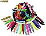 Assorted Colored Hair Ties (60 Pieces) by One & Only USA (Assorted 10 Packs)