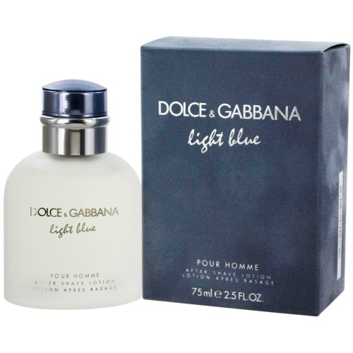 Light Blue Pour Homme by Dolce & Gabbana Aftershave Lotion (NO CELLOPHANE) 75ml 2LG4607