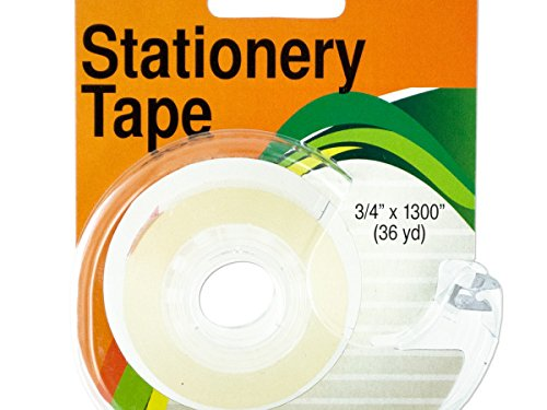 Clear Stationery Tape In Dispenser - Pack of 48