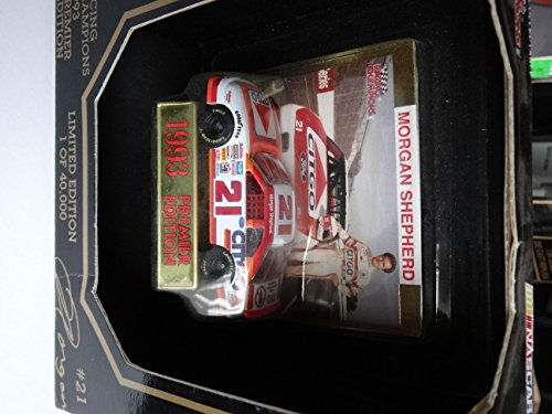 Racing Champions 1993 Premier Edition #21 Morgan Shepherd Signed on Back 1:64th Scale