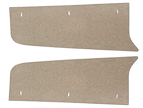 New 1968-70 Ford Falcon Futura LH RH Side Extensions Trunk Filler Boards (F160)