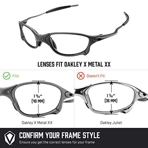 Azul — Polarizados Hielo Opciones Para Repuesto No X Múltiples De Mirrorshield Oakley Lentes Xx Metal FSvqp6nZ