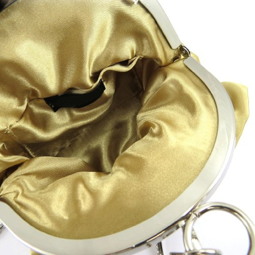 Bursa sac Ninastrass oro.
