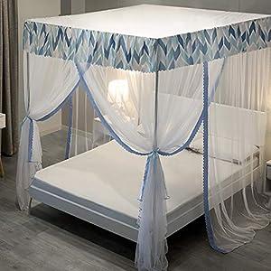 Piano zanzariera, 1,2 m 1,8 m letto domestico / 1.5m zanzariera, 2m Supporto Bed Encrypted zanzariera, 3 porte… 10 spesavip