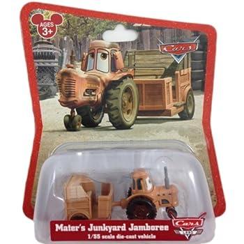 Amazon Com Disney Pixar Cars Supercharged Tractor Tippin
