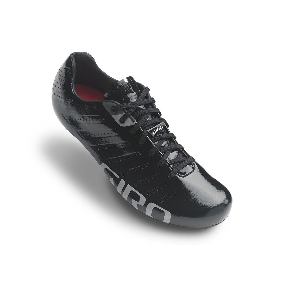 Giro Empire SLX Road Cycling Shoes Black/Silver 43.5