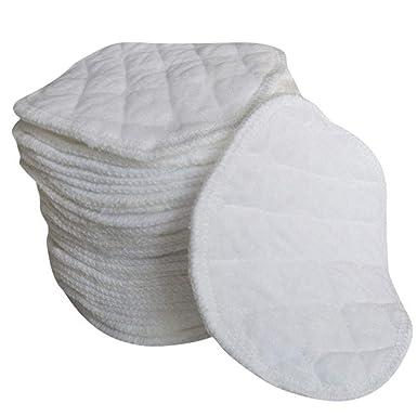 Wakerda 12 piezas de almohadillas de mama reutilizable La ...