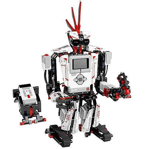 LEGO MINDSTORMS EV3 31313 Robot Kit with Remote Control for Kids, Educational STEM Toy for Programming and Learning How to Code (601 pieces) from LEGO