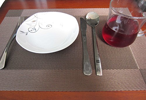 Square Table Placemats Set Of 4 LeBeila Heat Resistant  : 51jyidj2p L from www.2daydeliver.com size 500 x 344 jpeg 52kB