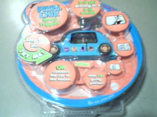 2005 Mattel, Inc. Mattel Pixel Chix Road Trippin' Blue Car Vehicle Interactive Lcd Toy Asst.
