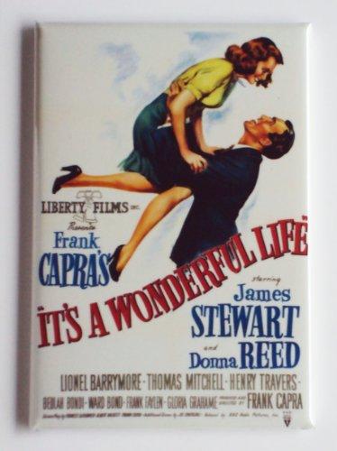 It's a Wonderful Life Movie Poster Fridge Magnet