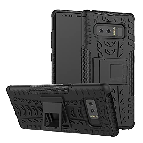 Galaxy Note 8 Case, GPROVA Hard Silicone Rubber Hybrid Armor Shockproof Protective Case For Samsung galaxy Note 8 (Galaxy Speck 5s Case)