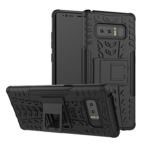 Galaxy Note 8 Case , AIKIN Tough Rugged Shockproof Dual Layer 2 in1 Protective Fit Armor Phone Cases Stand Hybrid Rugged Rubber back Case for Samsung Galaxy Note 8 Case
