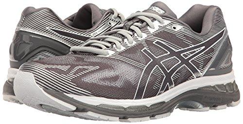 ASICS Men's Gel-Nimbus 19 Running Shoe, Carbon/White/Silver, 10 M US by ASICS (Image #6)
