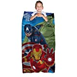 Marvel Avengers 'Age of Ultron' Quilted Slumber Bag with Captain America, Hulk, Iron Man
