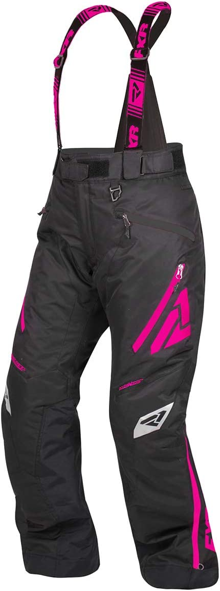 Black//Mint, Size 6 FXR Womens Vertical Pro Insulated Pant