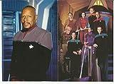 Star Trek DS9 Set of 5 POST CARDs Avery Brooks, Terry Farrell, Nicole de Boer, Rene Auberjonois