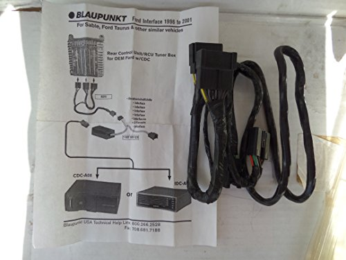 Blaupunkt 7607599520 OEM CD Changer Interface for 1996-2001 Ford Taurus, Mercury Sable and similar vehicles for CDC-A08 or IDC-A09