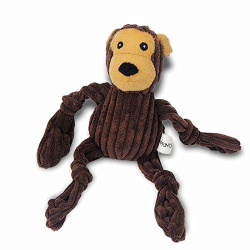 Rackies Dog Toys - Short Plush Dog Toy Squeaker Pet Items Stuffer Corduroy Frog Toy Puppy Production Big Dog Toys 1 PCs