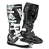 Sidi X-3 Ta Off Road Motorcycle Boots White/black Us10/eu44 (more Size Options)   amazon.com