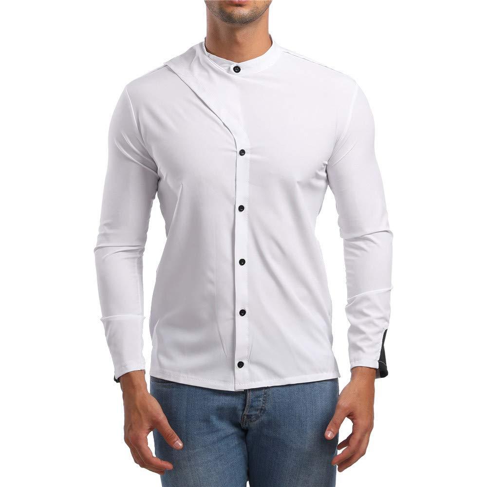 2018 Camisas Hombre Manga Larga,Camisetas Blusas Tops Hombre,Sujetador Camisa de Manga Larga para Hombre by LILICAT: Amazon.es: Alimentación y bebidas