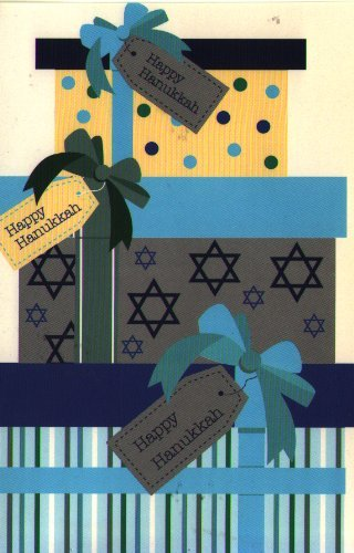 Chanukah Card 16 Holiday Hanukkah Cards 4 Each of 4 Designs With Envelopes 4