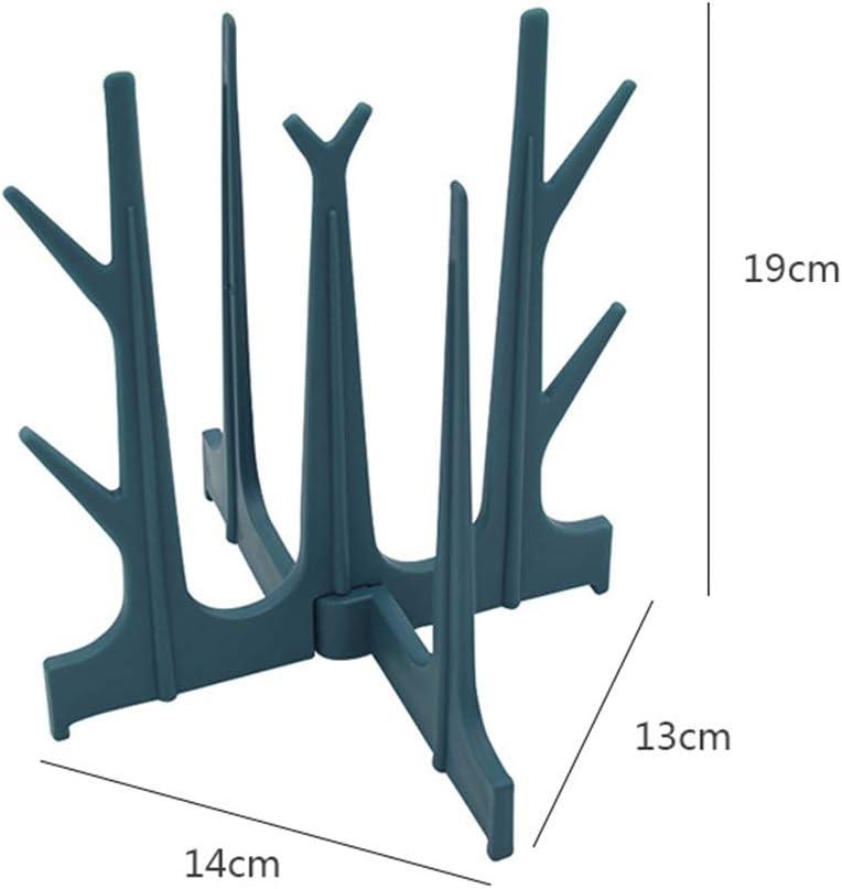 ZSooner S/échoir en plastique en forme darbre pour gobelets blanc Taille unique biberon et t/étine 14 x 13 x 19 cm Pas de z/éro