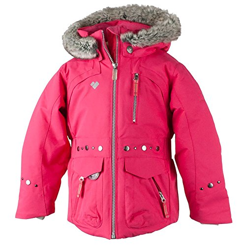 Obermeyer Kids Baby Girl's Taiya Jacket (Toddler/Little Kids/Big Kids) Smitten Pink 7 by Obermeyer Kids
