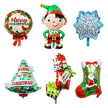 best quality ballons accessories christmas stock foil balloons boy globos christmas tree balloon