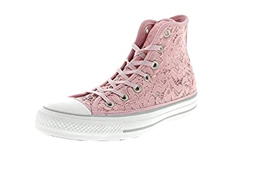 Rosa Donna Chuck 80 Scarpe Taylor Alte Hi Sneakers Converse