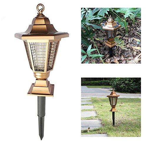 Sammid 2 in 1 Solar Mosquito Repellent Lamp, Outdoor Grass Solar Lighting, Waterproof Mosquito Killer Garden Light by Sammid